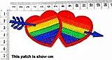 Cute Rainbow Heart Love Cupid Sign Happy Cartoon