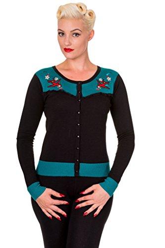 SWALLOW-BLOSSOM-Womens-Long-Sleeve-Emily-Fine-Knit-Cardigan