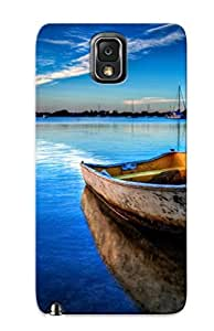 Eatcooment Faddish Phone Boat On The Sea Case For Galaxy Note 3 / Perfect Case Cover