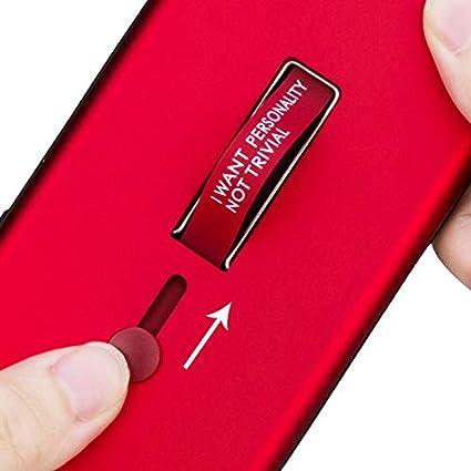 WIWJ Samsung Galaxy S9 Plus H/ülle Case PC Backcover+TPU Silikon Mit Halterung und Ring Funktion Handy Schutzh/ülle Schutz Cover Schale Handyh/ülle f/ür Samsung Galaxy S9 Plus-Rotgold