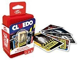 Shuffle Card Games - Cluedo Card Game - 2+ Players - Cartamundi by cartamundi: Amazon.es: Juguetes y juegos