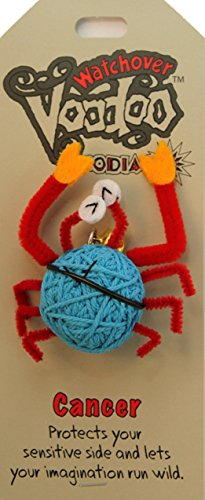 [Watchover Voodoo Cancer Doll, One Color, One Size] (Voodoo Doll Costume Child)
