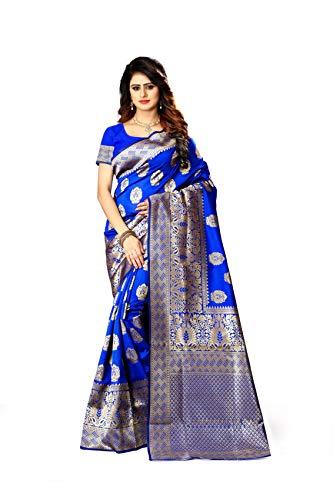 9481702838 South Asian New Indian/Pakistani Ethnic Designer Multi Color Banarasi Silk  Party Wedding Saree P 20