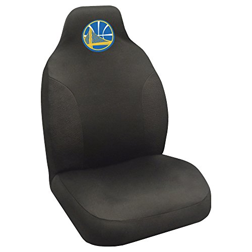 Fanmats 20324 NBA - Golden State Warriors Seat Cover, Team Color, 20''x48'' by Fanmats