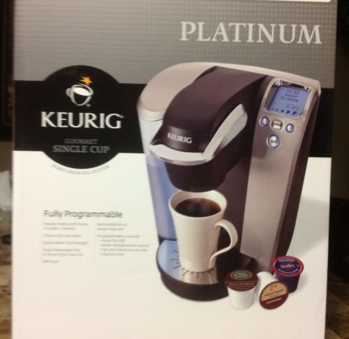 Amazon.com: Brand New Keurig Single Serve K Cup Coffee Maker Machine Platinum with 60 K-cup FREE!: Beauty