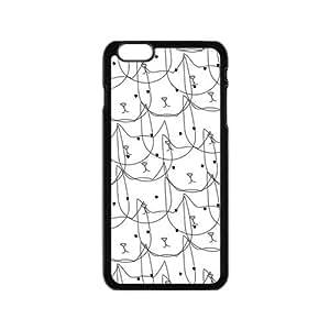 Generic Customize Unique Otterbox--Cute Cat Plastic Case Cover for iPhone6