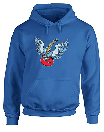 Air Guitar, Printed Hoodie - Royal Blue/Transfer 2XL for sale  Delivered anywhere in Canada
