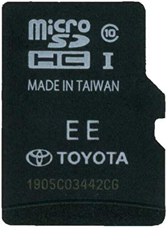 2014 2015 2016 2017 2018 2019 Toyota Latest Navigation Micro SD Card 86271-0E072