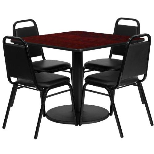 "Flash Furniture RSRB1010-GG 36"" Square Mahogany Laminate Tab"