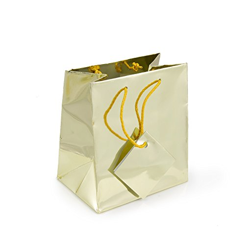 Gift Bag Small Metallic Gold (Package of 20) -