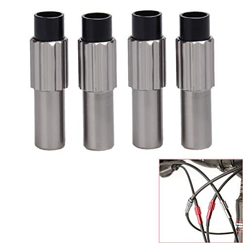- Luckycivia 4PCS Bicycle Cable Adjusters, Bicycle Adjuster Bolt, 2 Pairs Bike Shifter Connector, Adjuster Housing Cap Line Regulator, Brake Gear Accessory