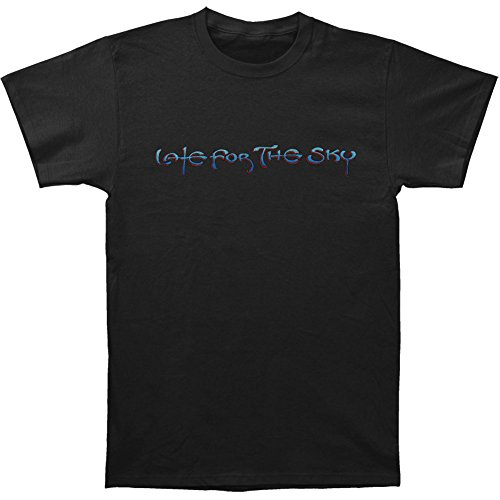 Jackson Browne Men's Late For The Sky T-shirt Black