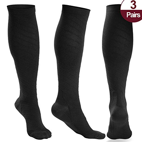 ession Socks Women and Men - Athletic Fit For Running,Travel,Recovery,Pregnancy & Medical ()