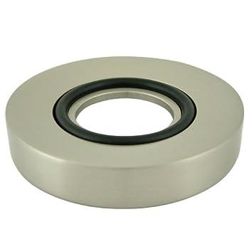 Elements of Design EV8028 Faucetier Mounting Ring for Vessel Sink , Satin Nickel