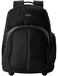 Compact Rolling Backpack for 16-Inch Laptops, Black (TSB750US)