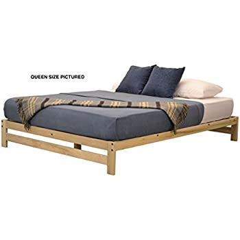 Amazon.com: KD Frames Asheville Platform Bed (Twin): Kitchen & Dining
