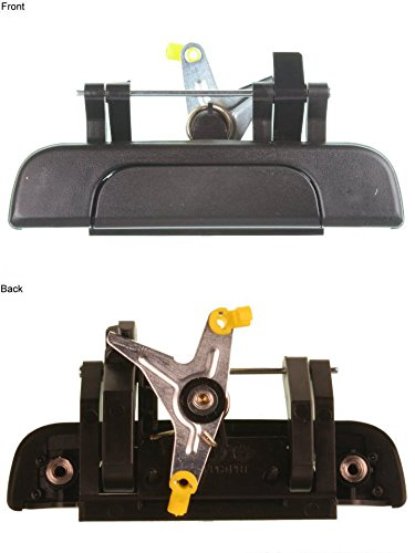 1995-2004 Toyota Tacoma Pickup Truck Outside Outer Exterior Black Tailgate Lift Gate Door Handle (1995 95 1996 96 1997 97 1998 98 1999 99 2000 00 2001 01 2002 02 2003 03 2004 04)