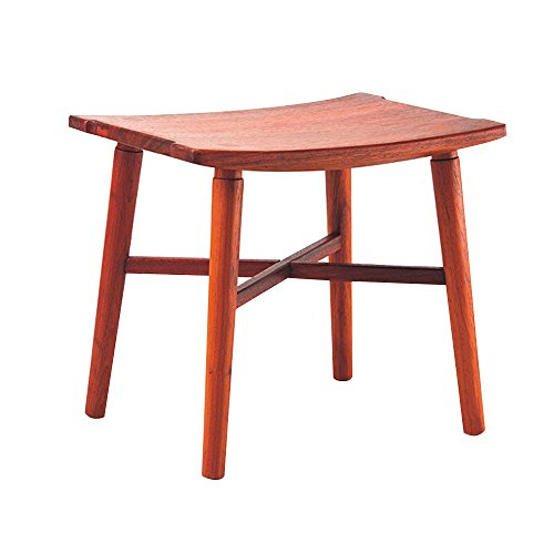 Wooden stool Wooden stool Square Step Stool , Assembled Stool , 16.5inch Long by 13.3inch Wide , 14.1inch High by MISCELLANEOUS HOMES