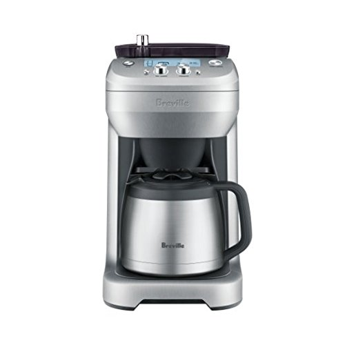Breville RM-BDC650BSS the Grind Control, Silver, Certified Refurbished by Breville