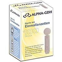 Alpha GDH sterile Lanzetten 100 Stück 30G