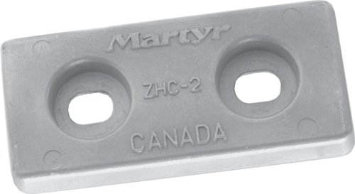 Martyr CMZHC5AA, Aluminum Alloy Pleasurecraft ZHC-5 Large Streamlined Bolt-on hull anode