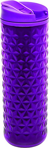 Aladdin Topo Insulated Plastic Mug 16oz, Berry