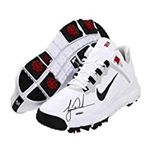 TIGER WOODS Hand Signed Authentic TW 13 White Shoe - Upper Deck Certified - Autographed Golf Shoes