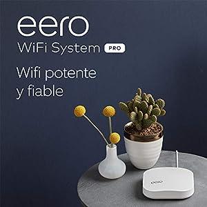 Presentamos el sistema wifi de malla Amazon eero Pro: 3 unidades