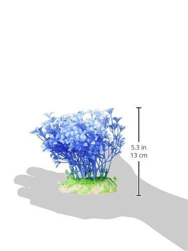 Amazon.com : Las plantas Jardin peces de acuario tanque de paisajismo emulational plástico, Azul : Pet Supplies