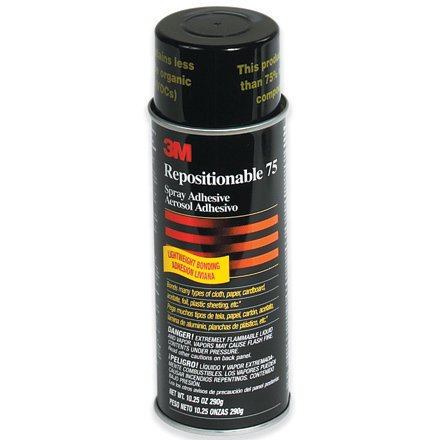 SHPADH3M75 - 3m Repositionable 75 Adhesive