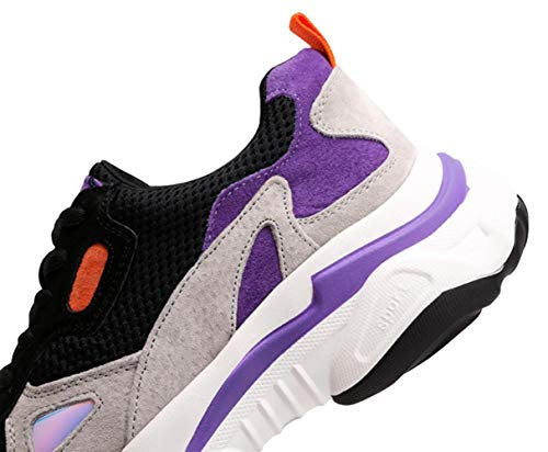 Purple 2018 Wild Scarpe Casual Pig Da Autunno Kong Style Hong Nubuck Sneakers Donna Shiney Nuove Yx0Wwq6HS