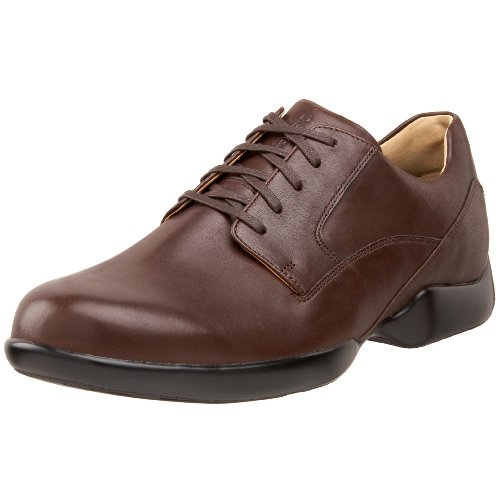 Aetrex Men's G501 Lace-Up Plain Toe,Brown,14 XW US