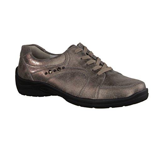 donna 312011 Scarpe Waldl stringate grigio 175 Grau Grau 103 ufer qC55xRIwSY