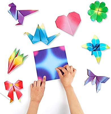 96 Sheets 12 Colors Square Origami Paper Folding Paper Diy Craft
