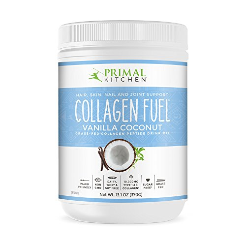 Primal Kitchen Collagen Fuel Protein Mix, Vanilla Coconut - Non-Dairy Coffee Creamer, Supports Healthy Hair, Skin, Nails and Joints, Promotes Muscle Repair