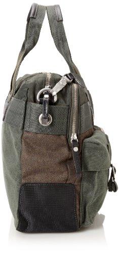 Diesel MIXT8 ZIPPY 8 - Bolso de mensajero de lona hombre marrón - Braun (rosin/black H4986)