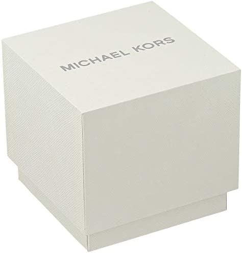 Michael Kors Men's Stainless Steel Quartz Watch with Silicone Strap