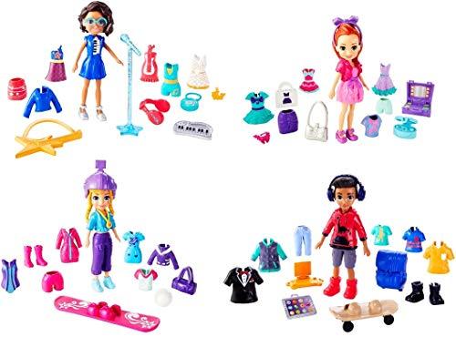 Super Kit Fashion, Mattel, Polly Pocket, Multicor, Pacote de 1