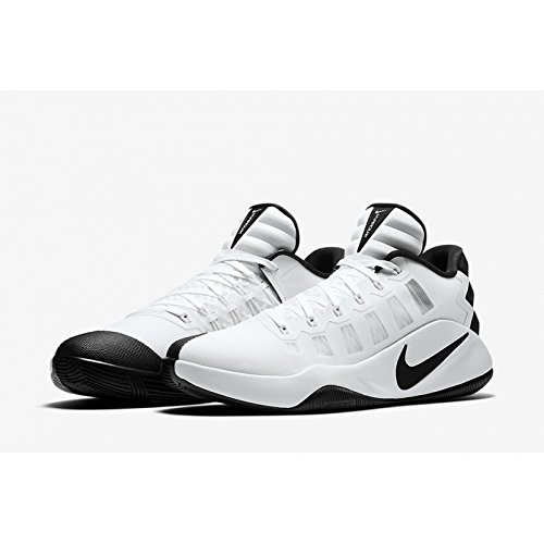 NIKE Men's Hyperdunk 2016 Low, White/Black, 11 M US