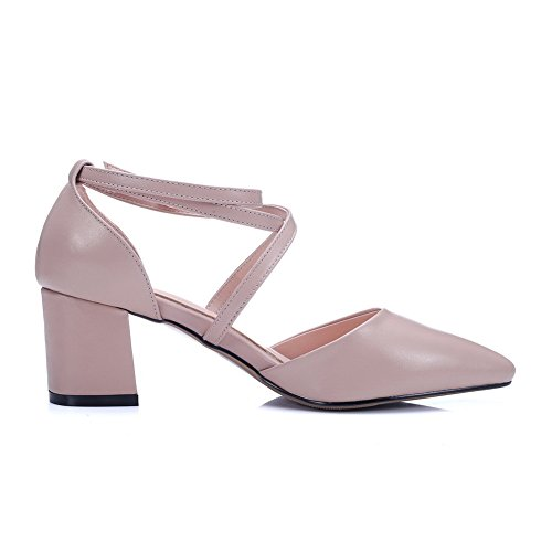 Sandales EU Rose Compensées 5 Rose BalaMasa Femme 36 FaBTBx