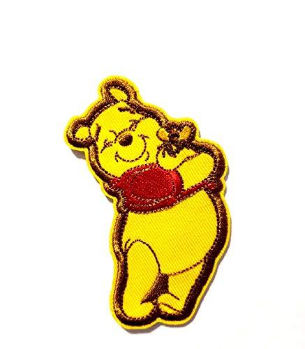 Loungefly Disney Movie Cartoon Theme Iron On Patch Applique (Winnie The Pooh Honey Bee)