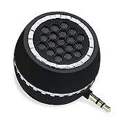 INTSUN Mini Portable Speaker, 3W Mobile Phone Speaker Line-in Speaker Built in 350mAh Lithium Battery with Clear Bass 3…