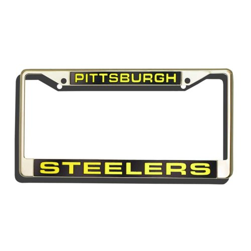NFL Pittsburgh Steelers Laser-Cut Chrome Auto License Plate - Pittsburgh Outlet Stores Mall
