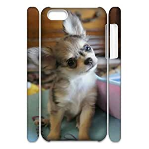 AKERCY Chihuahua Phone 3D Case For Iphone 5C [Pattern-2]