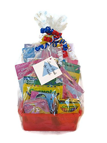 Sweet Deals by Nicole Kids Deluxe Gift Basket-Princess Theme-Great for Easter, Valentine's Day or Birthdays