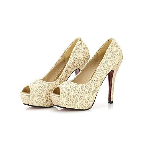 Adee , Damen Sandalen, goldfarben - gold - Größe: EU 35