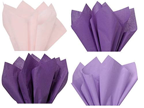 Purple Mix 1 - Gift Wrapping Tissue Paper 96 Sheets 15