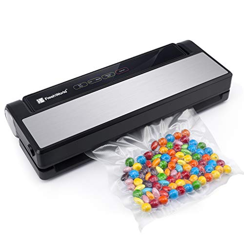 Vacuum Sealer, Fresh World 4 in 1 Automatic Stainless Steel