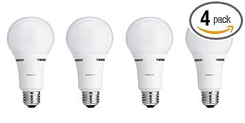 philips led 3way bulb 4 pack watt equivalent