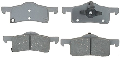 - ACDelco 14D935C Advantage Ceramic Rear Disc Brake Pad Set with Wear Sensor